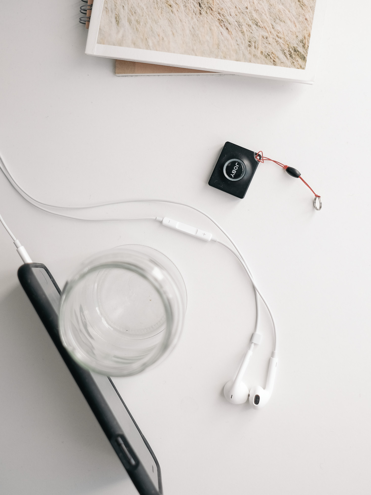Fernauslöser und Kopföher für die Aufnahme mit der Smartphone Kamera