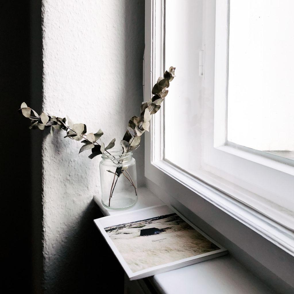 Smartphone Foto zu Hause im Winter